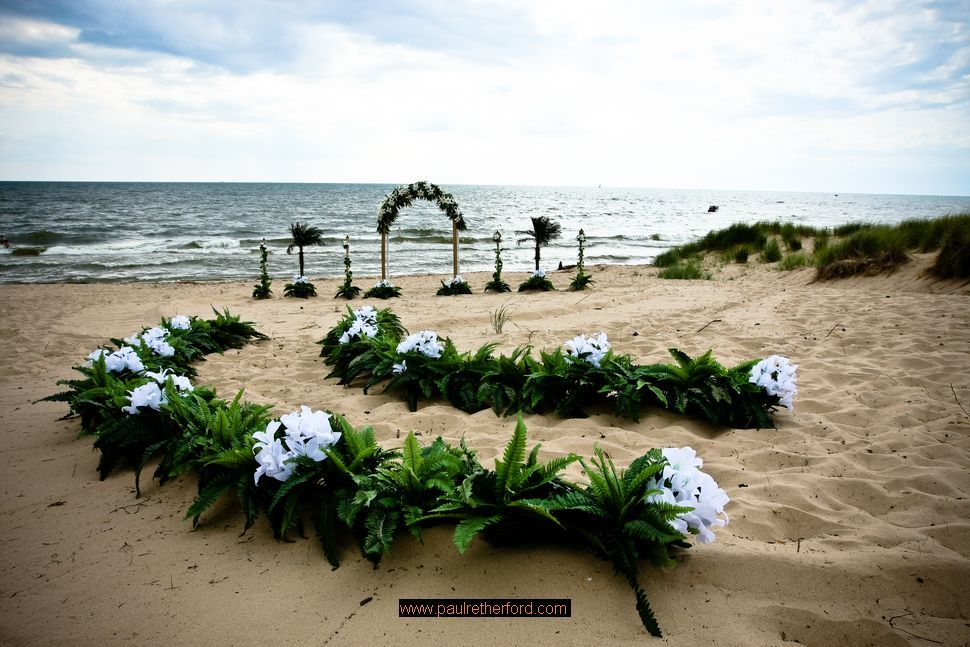 Lake Michigan Beach Wedding Shoreline Wedding Michigan Beach