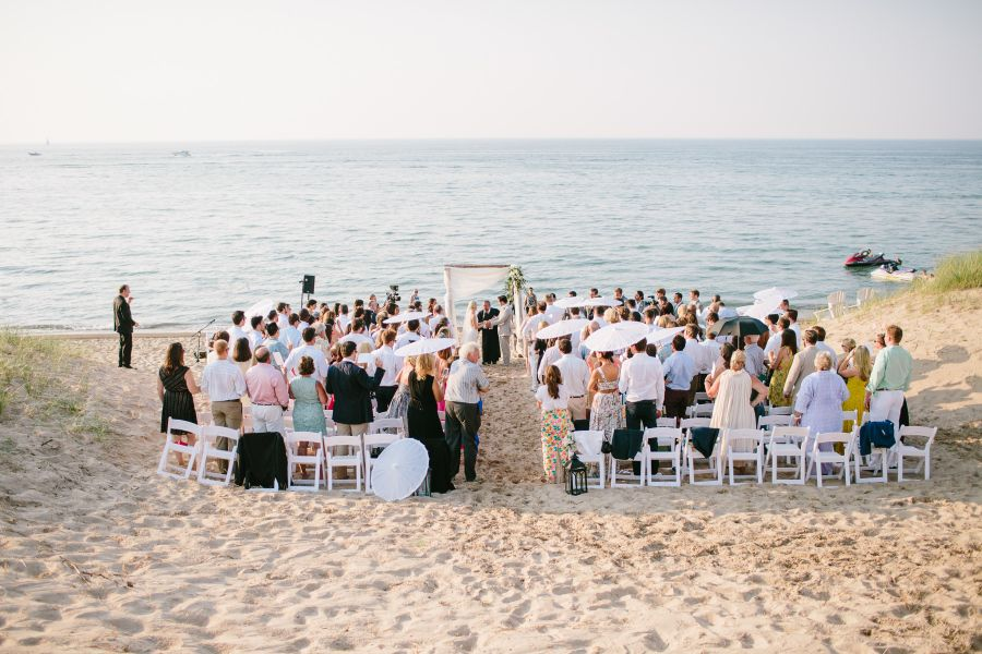 Pops Of Pretty Michigan Beach Wedding Michigan Beaches Beach