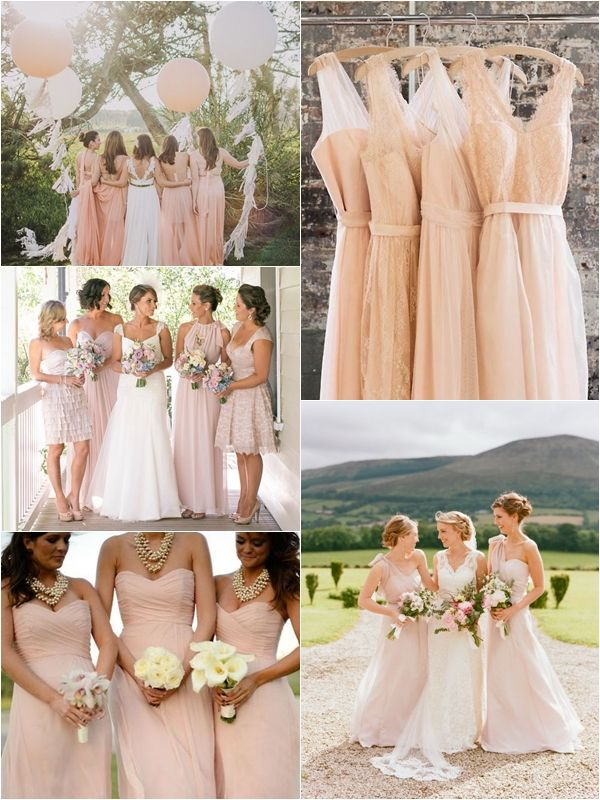 Top 10 Most Flattering Bridesmaid Dress Colors Glamorous Wedding