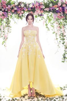 15 Yellow Wedding Dresses Perfect For Belle Beauty And The Beast
