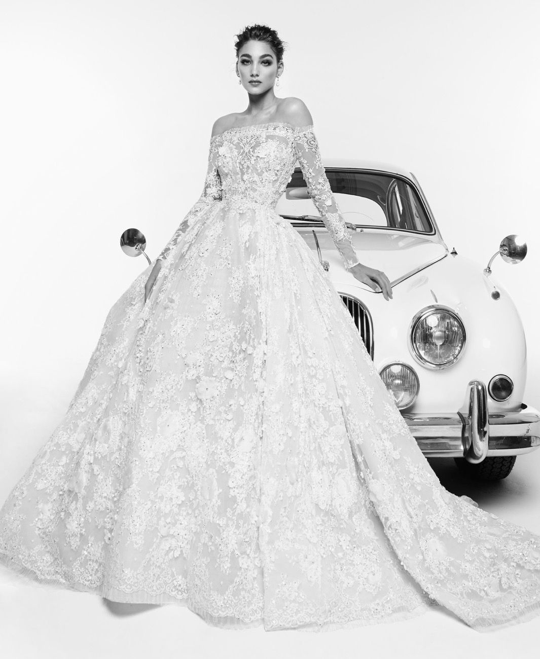 Zuhair Murad Spring 2019 Bridal Collection Rafaelle Wedding