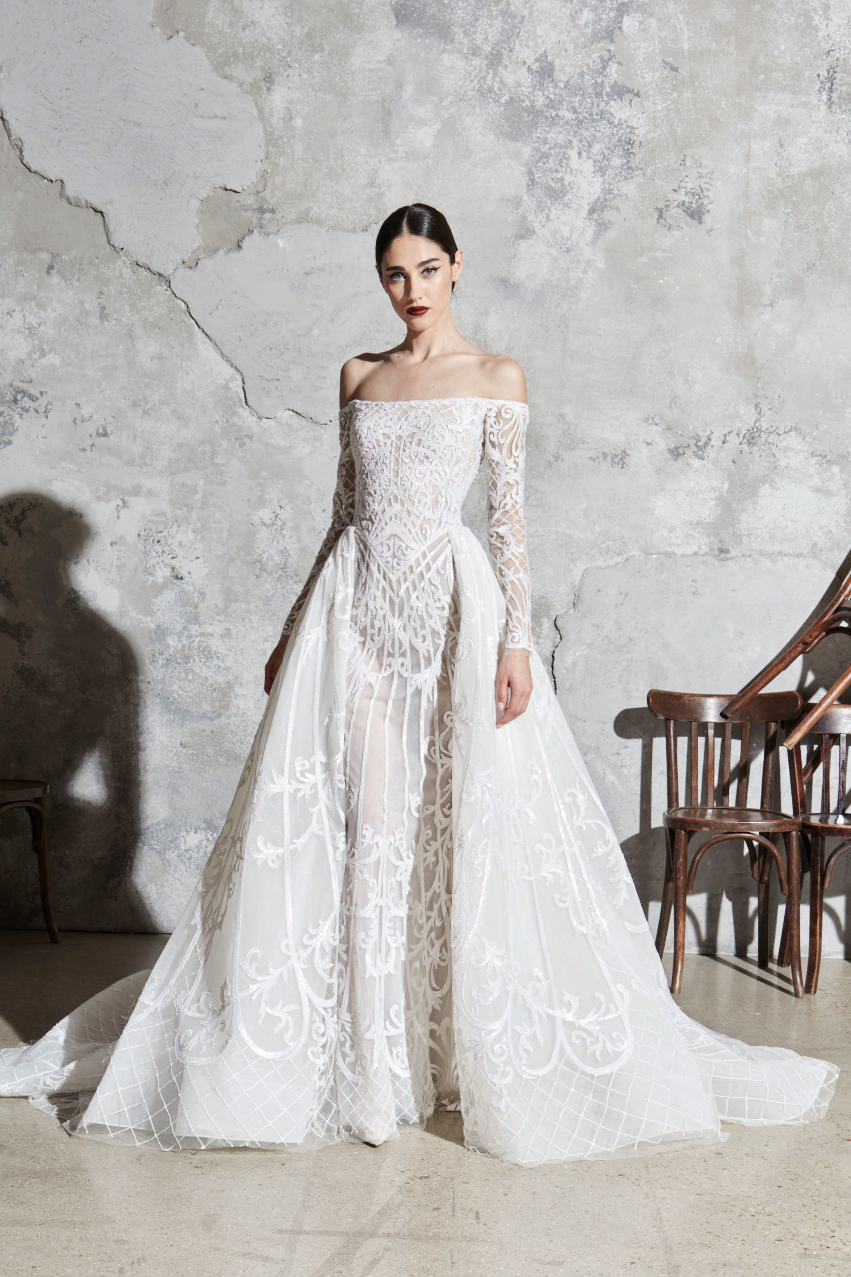 Zuhair Murad Bridal Spring 2020 Fashion Show Wedding Dresses