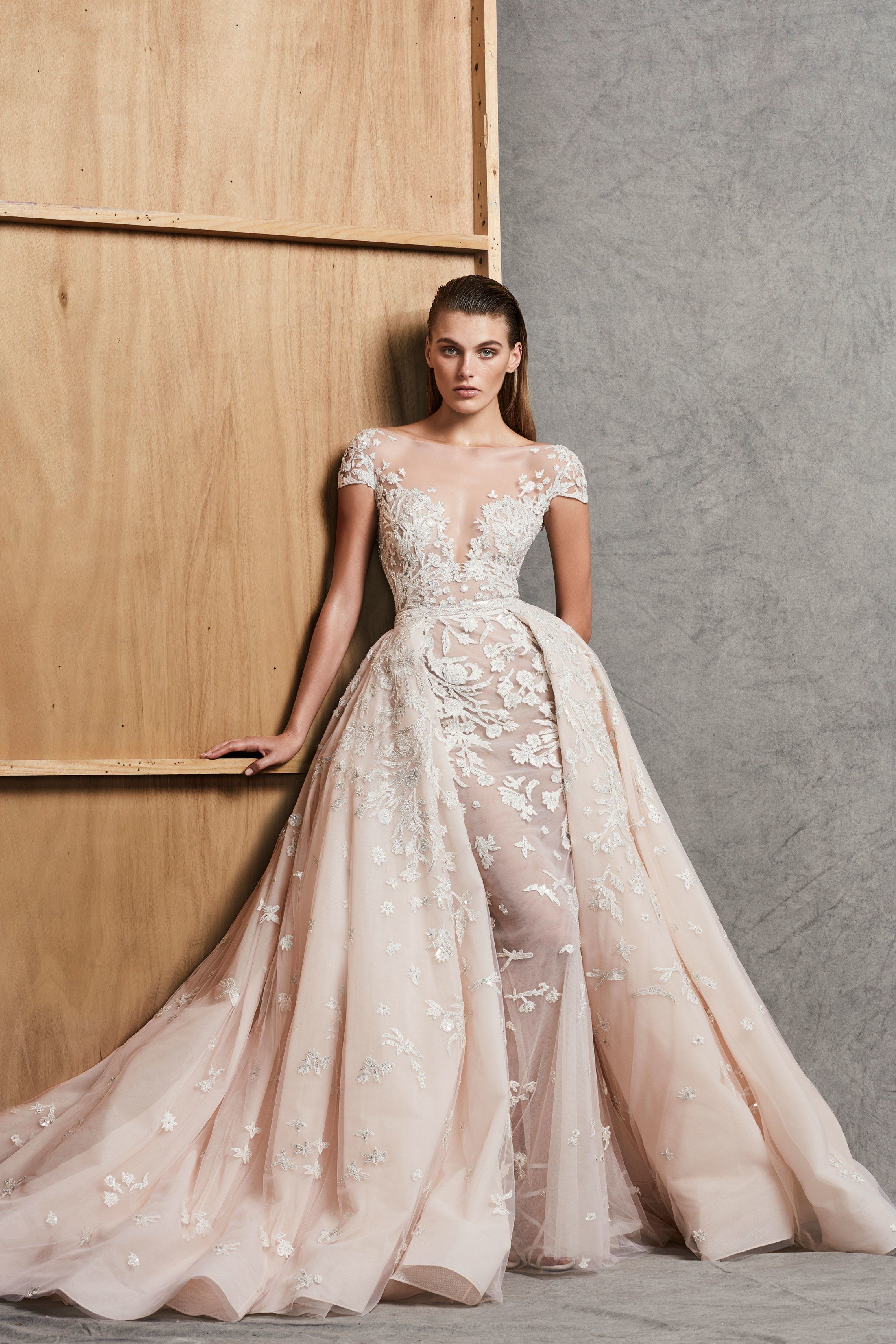 Zuhair Murad Bridal Fall 2018 Fashion Show With Images Wedding