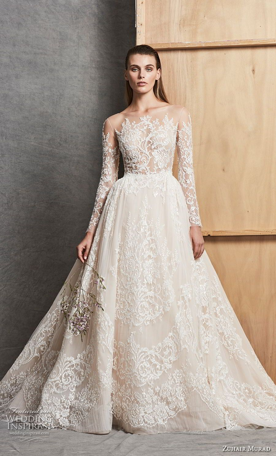 Zuhair Murad Fall 2018 Wedding Dresses Wedding Dress Long Sleeve