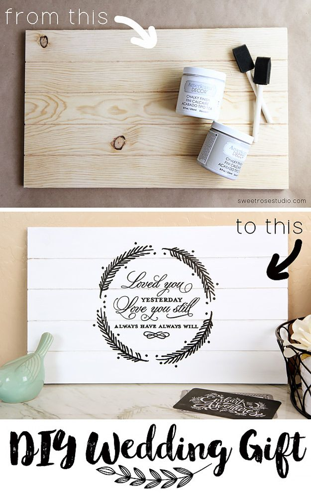 37 Expensive Looking Cheap Diy Wedding Gifts Diy Wedding Gifts