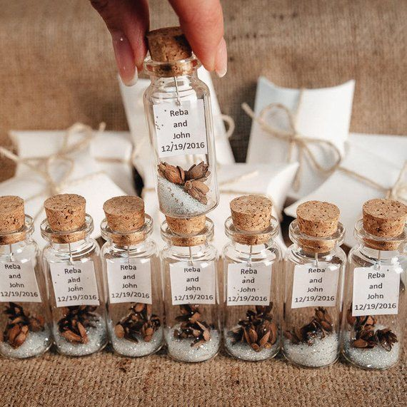 Elegant Wedding Favors Thank You Gifts For Guests Rustic Wedding