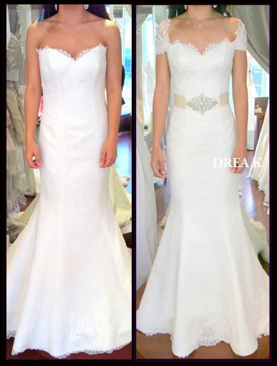 To Sleeve Or Not To Sleeve Wedding Dress Alterations Wedding