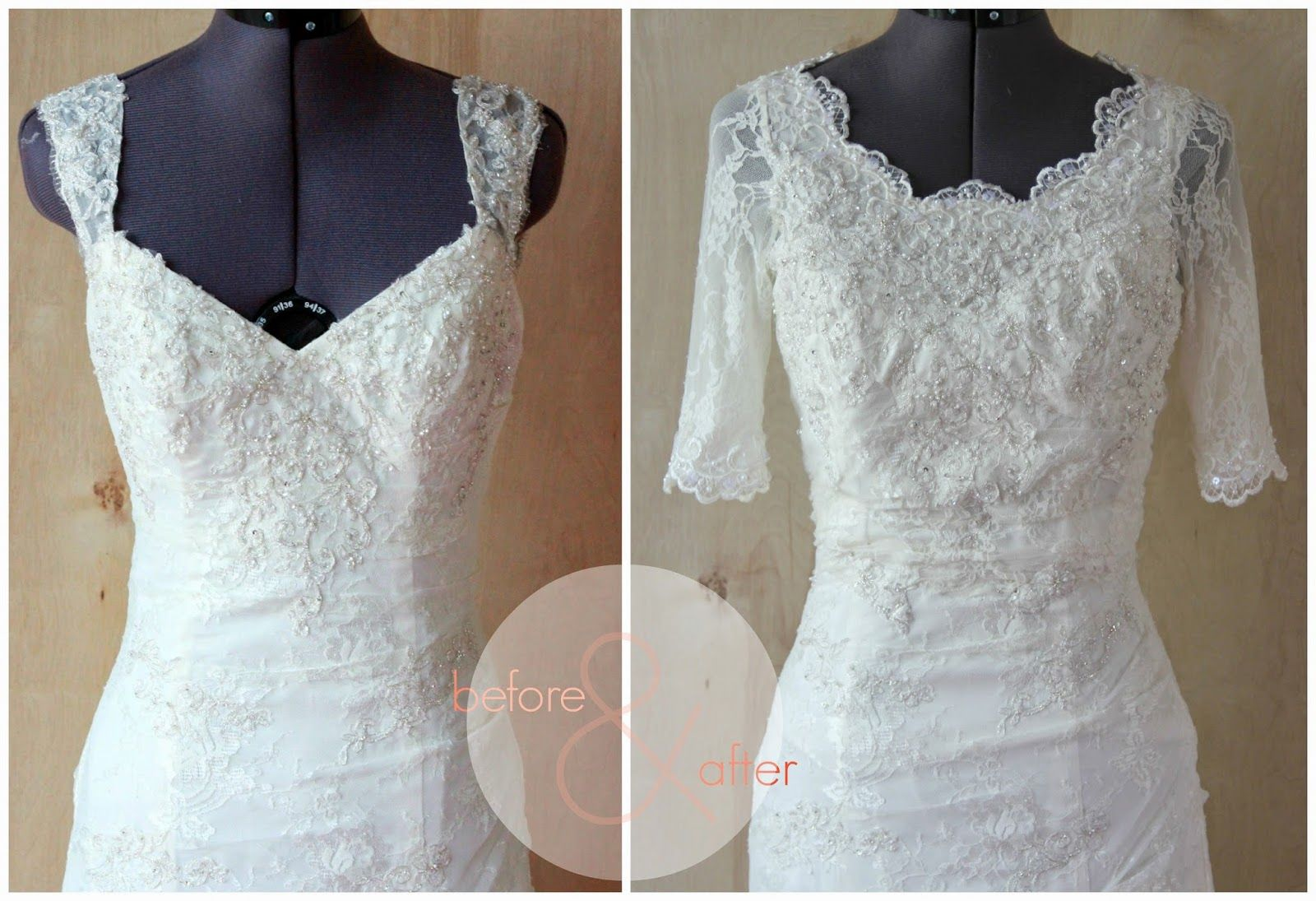 Behind The Scenes Of A Wedding Dress Alteration Diy Wedding