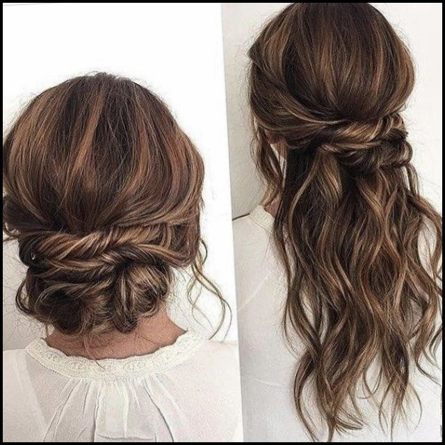 Hairstyles For 2018 Wedding Guests Guest Hair Long Hair Wedding