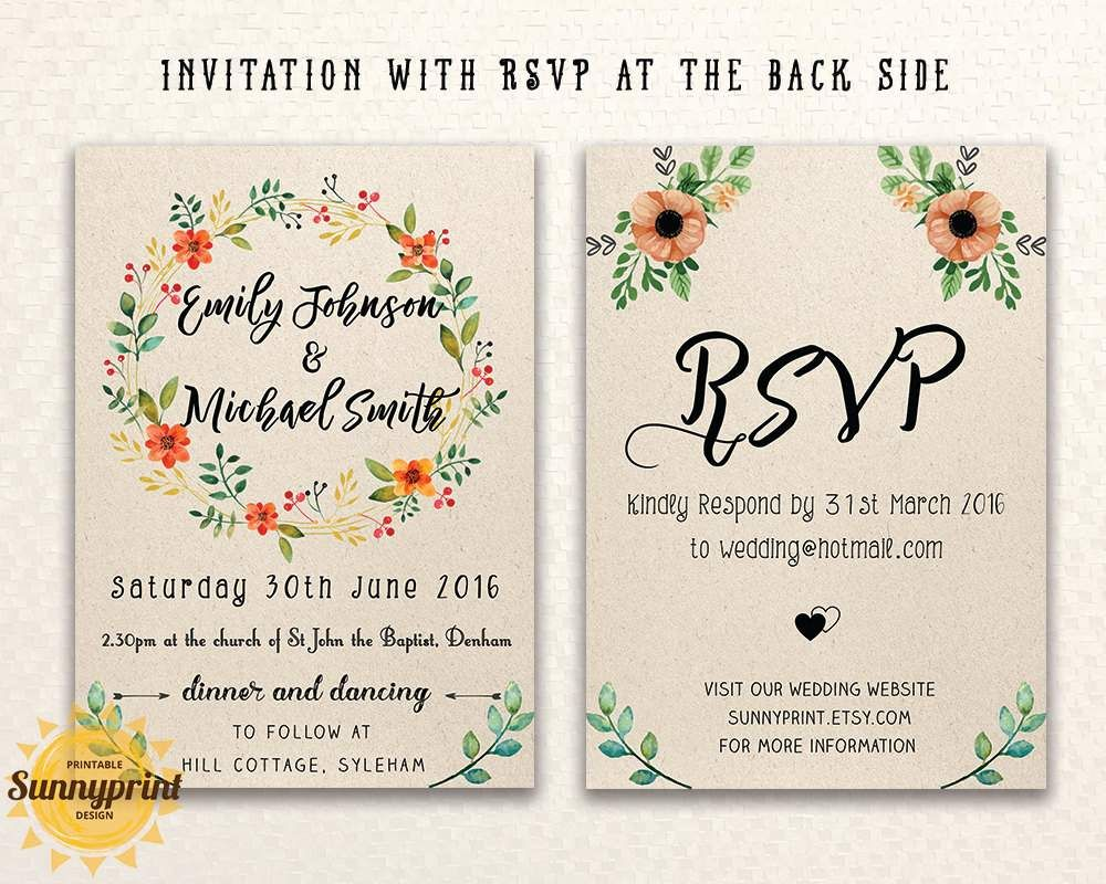 Free Online Wedding Invitations Templates