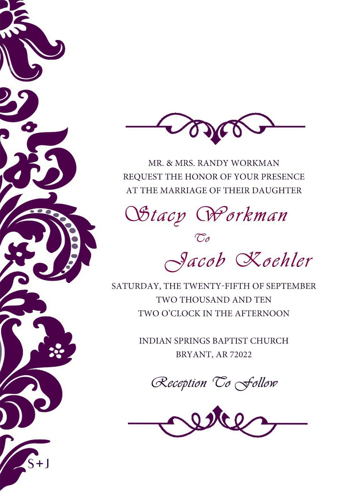 Wedding Invitation Cards Design Online Free Wedding Invitations