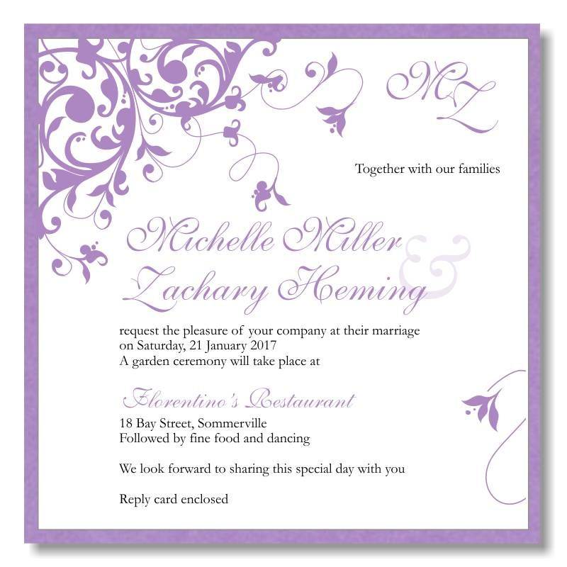 Online Invitation Maker Free Download Free Wedding Invitation