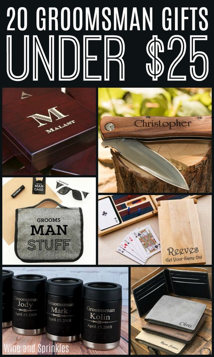 20 Groomsman Gifts Under 25 Gifts For Wedding Party Groomsmen