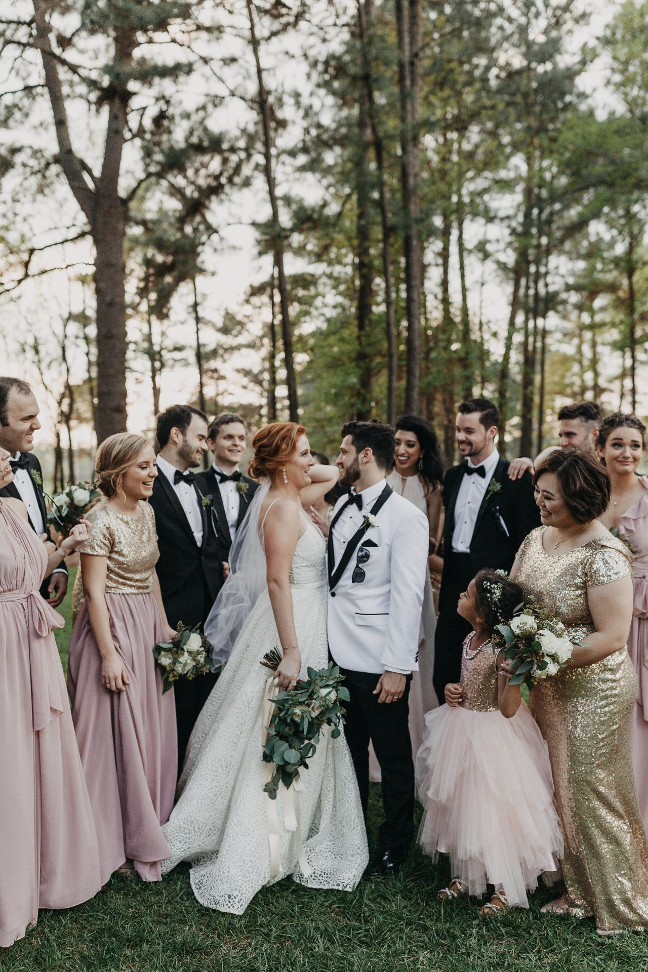 Classy Bridal Party Modern Bridal Party Weddings In Houston