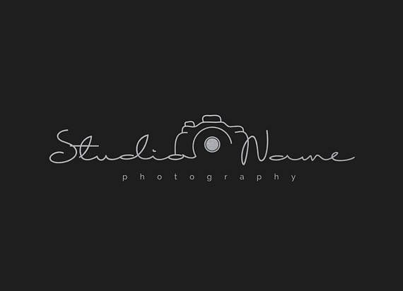 Photography Modern Camera Logo With Multiple Foil Colors For