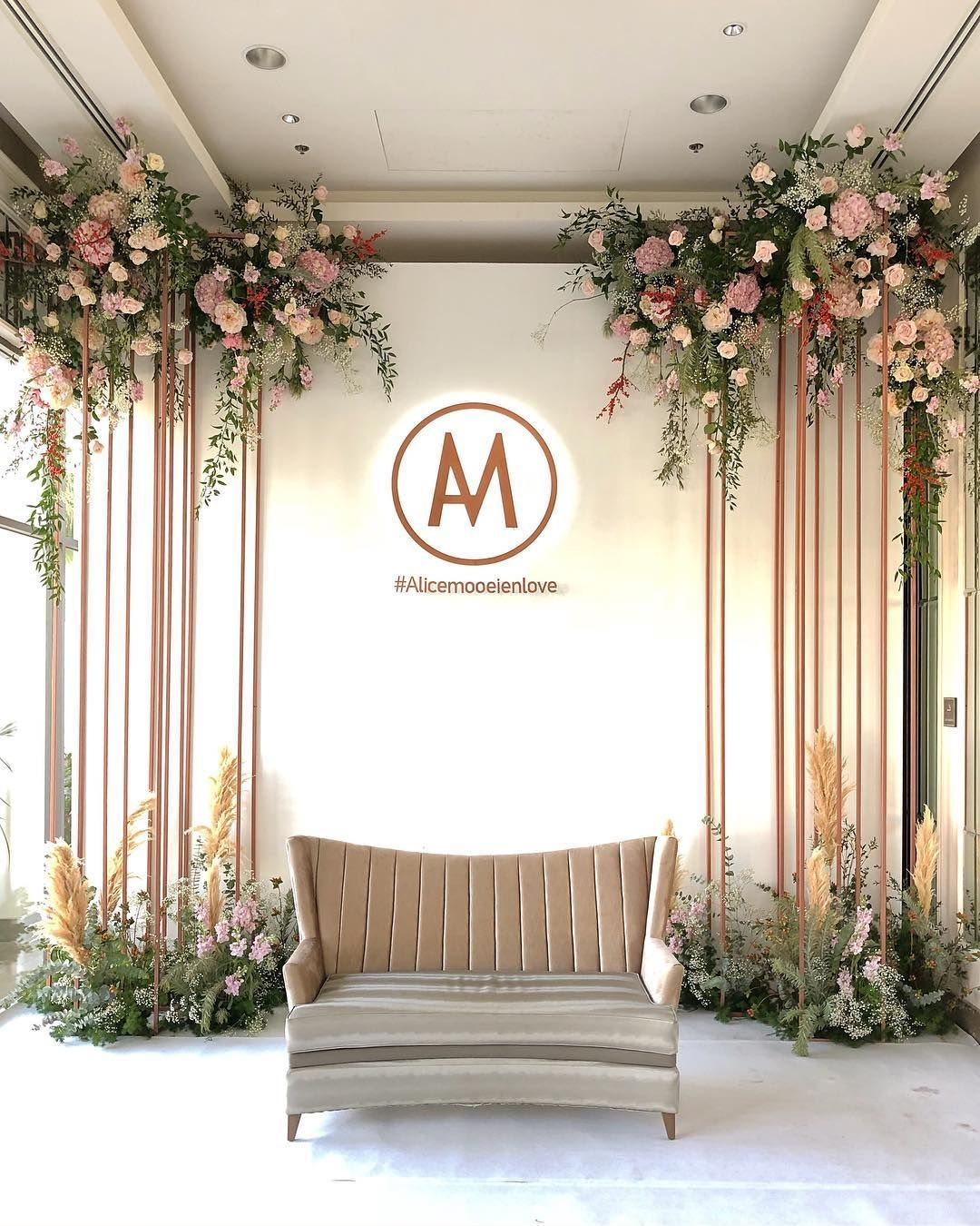 Photo Backdrop Wedding In Thailand Reception 02 12 60 Decoration