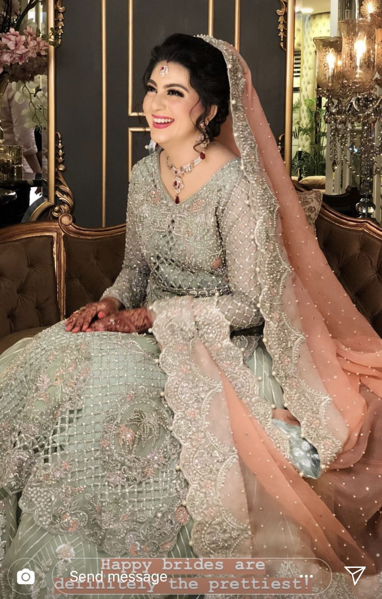 Find The Indian Wedding Reception Dresses For The Bride Osmm