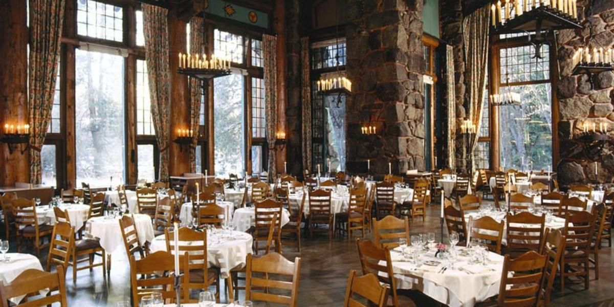20 Venues For A Winter Wonderland Wedding Ahwahnee Hotel