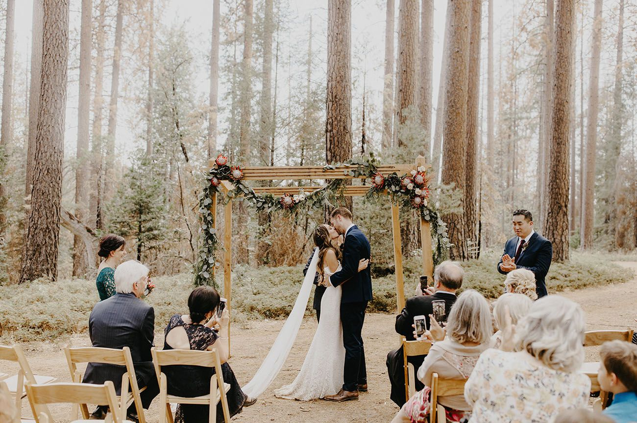 Free Spirited Boho Inspired Wedding In Yosemite National Park