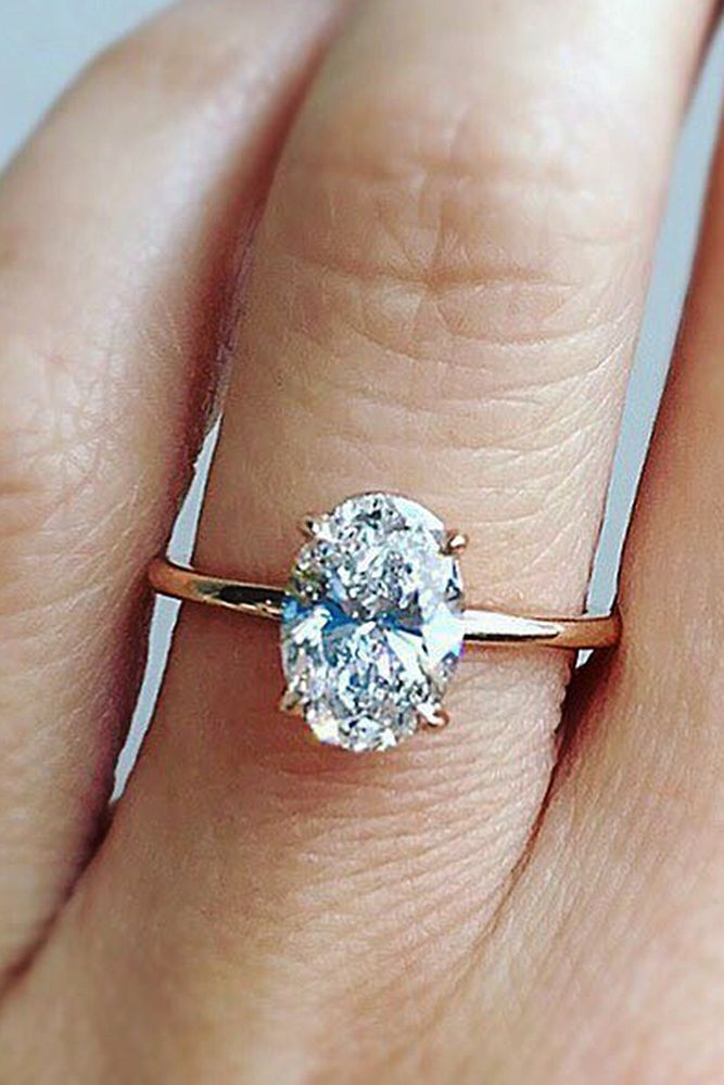 24 Best Rose Gold Engagement Rings For A Tender Look Rose Gold Oval Engagement Ring Rose Gold Engagement Ring Engagement Rings Oval