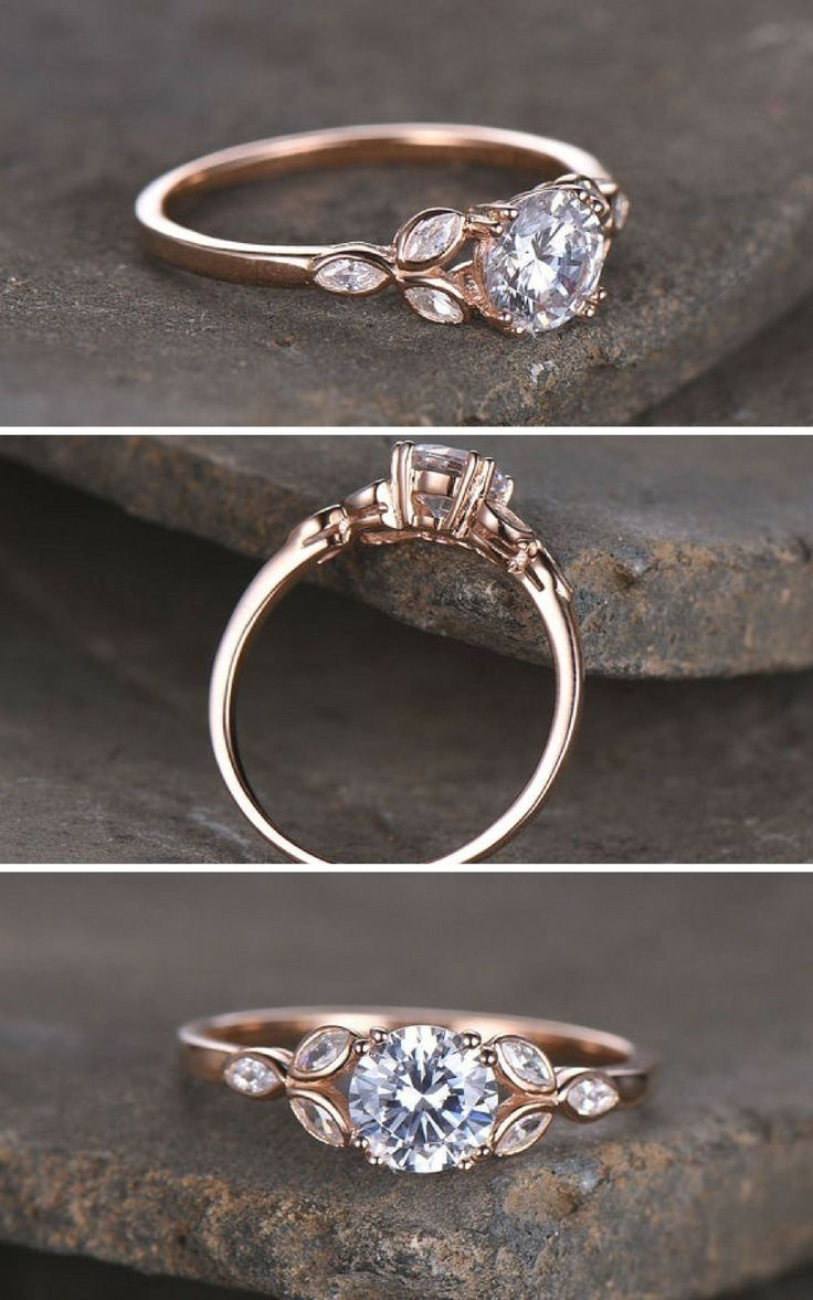 Rings Wedding Rings Round Cool Wedding Rings Silver Engagement