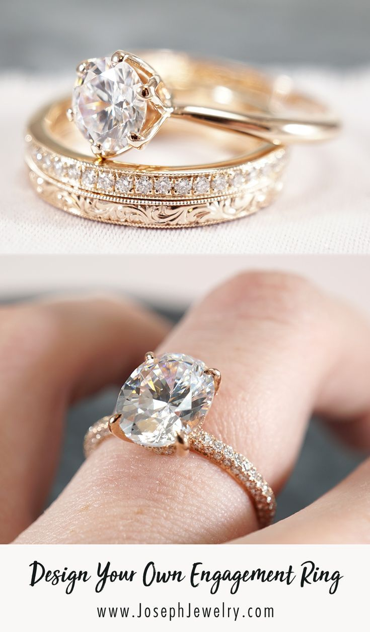 Design Your Own Engagement Ring Work Directly With Our Designers