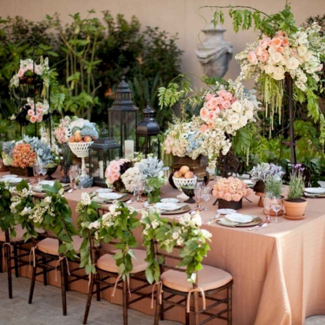 25 Most Beautiful Spring Wedding Decor Ideas 2018 Spring