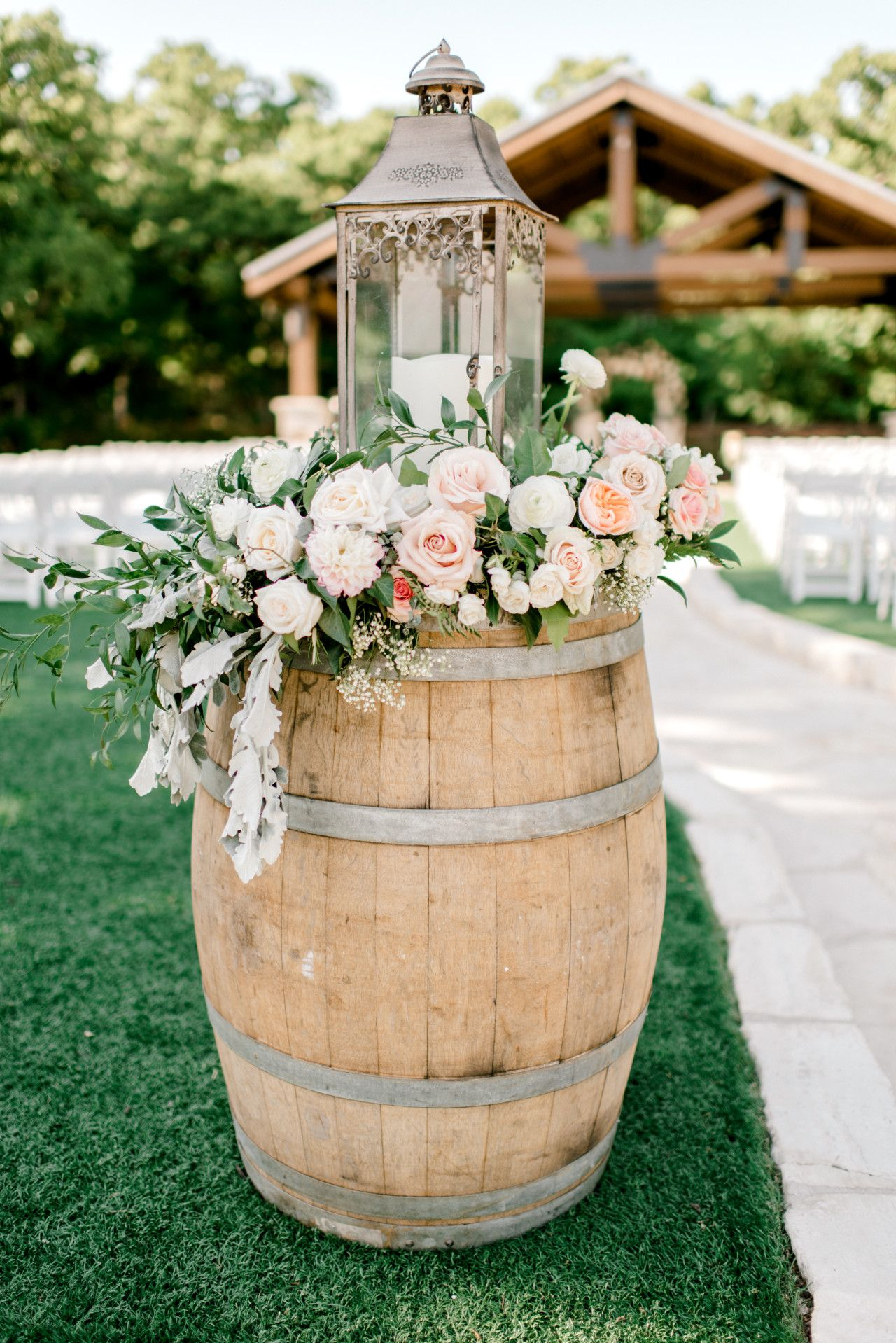 Outdoor Wedding Ceremony Decor Ideas Natural Elegant Outdoor