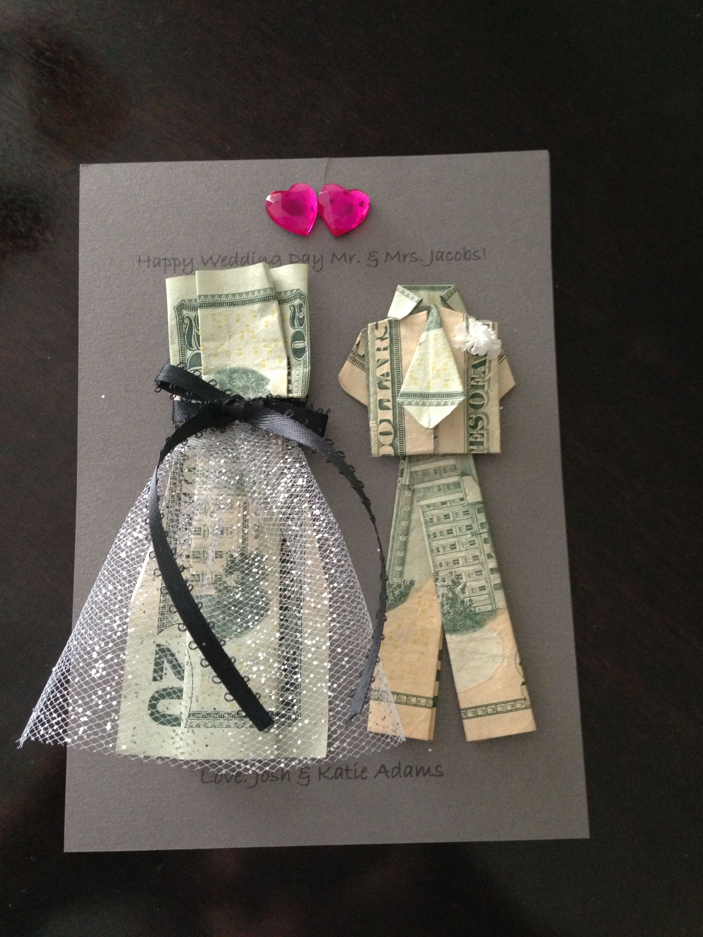 Creative Way To Give Money As A Wedding Gift Wedding Gift Money