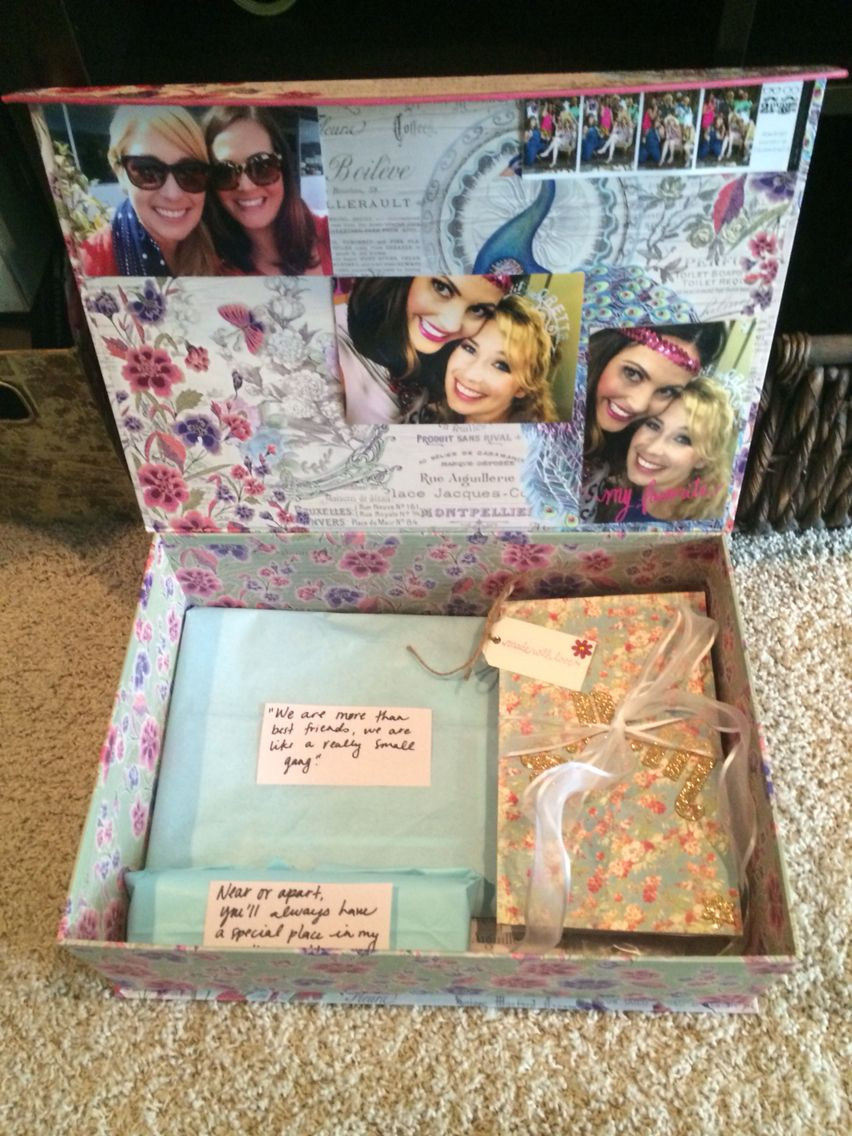 Brides Box Include Any Sentimental Gifts You Have For The Bride