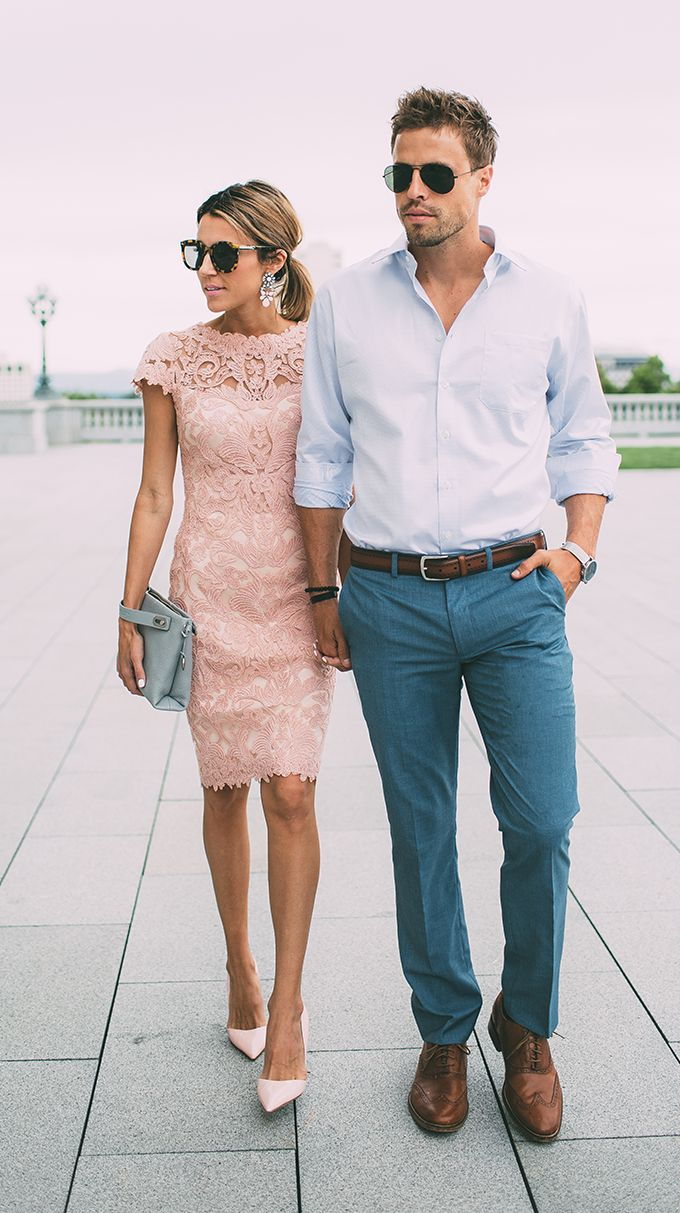 What Should Guys Wear To A Wedding Couple Outfits Summer